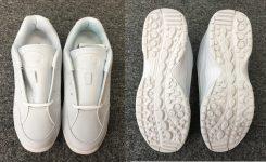 キャディさんの靴